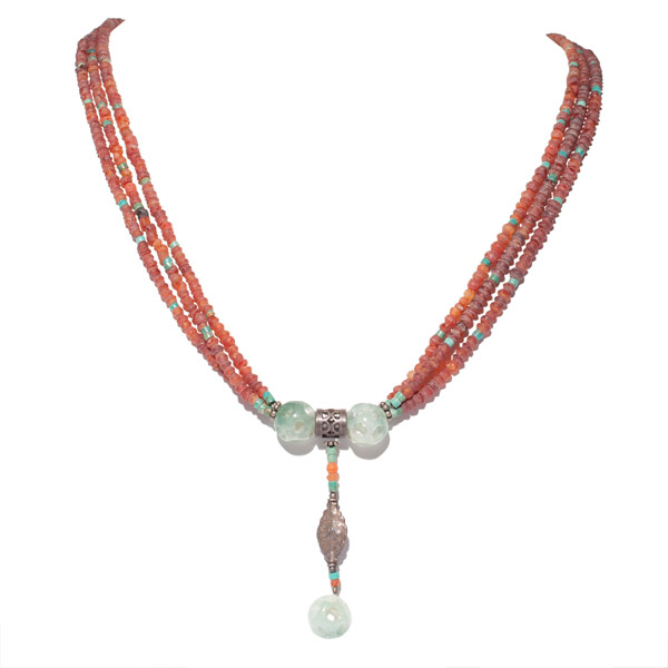 Carved Jade Necklace(Chinese Jewelry)