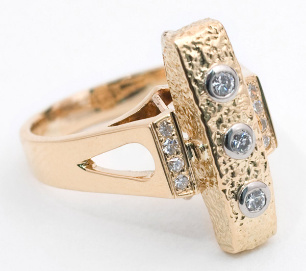 Gold & Diamond Ring(American Jewelry)