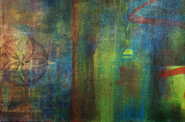Listening to Satie by Laurie McKeon(Hawaiian Painting/Drawing)