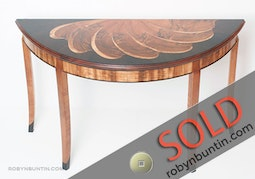 Demi-Lune Entry Table by Joel Bright