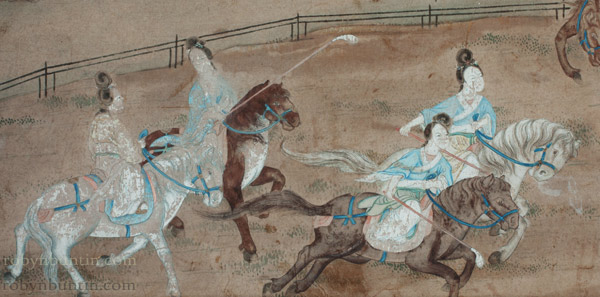 Chinese Polo Match(Chinese Painting/Drawing)
