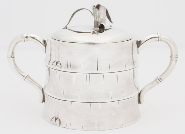5-Piece Silver Coffee & Tea Set(Japanese Functional Object)