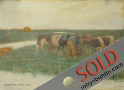 Cows by Charles W. Bartlett