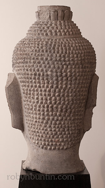 Thai Buddha Head(Southeast Asian Sculpture)