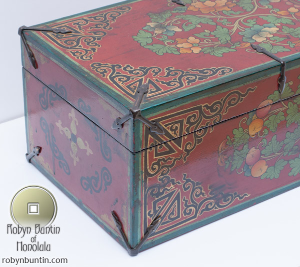 Small Tibetan Storage Box(Indian Furniture)