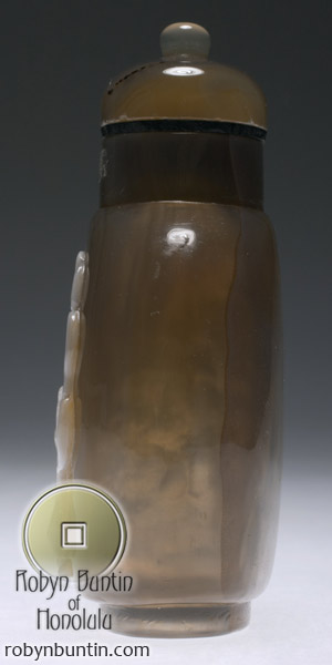 Suzhou Agate Snuff Bottle(Chinese Sculpture)