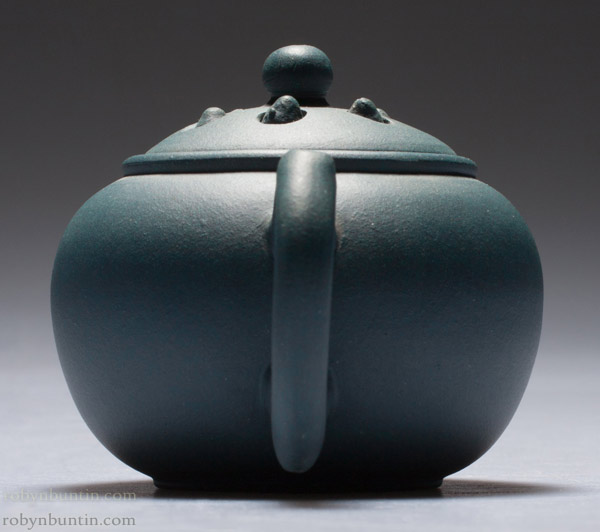 Small Blue Yixing Teapot(Chinese Functional Object)