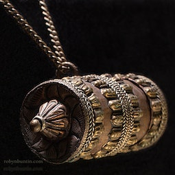Prayer Drum Necklace