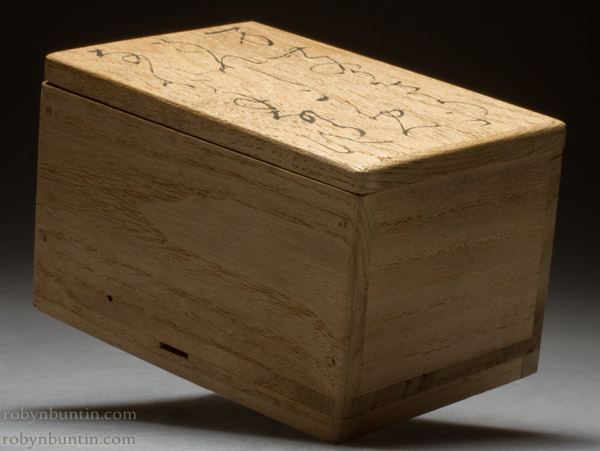 Age 79 Tortoise Kogo (with box) by Otagaki Rengetsu (Japanese Functional Object)