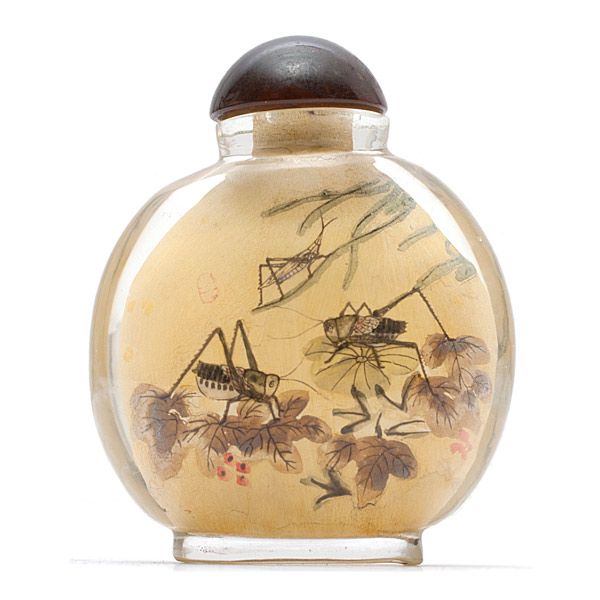 Inside Painted Snuff Bottle(Chinese Sculpture)