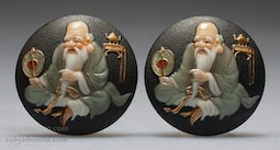 Fukurokuju Earrings