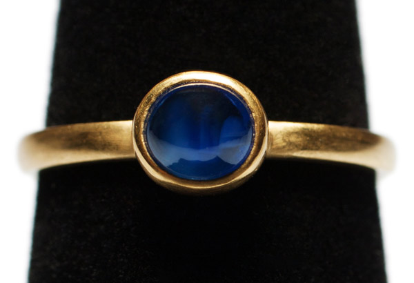 Sapphire Stacking Ring by Tomi(Hawaiian Jewelry)