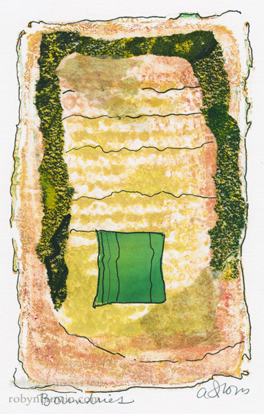 Boundries by Anne Irons(Hawaiian Painting/Drawing)