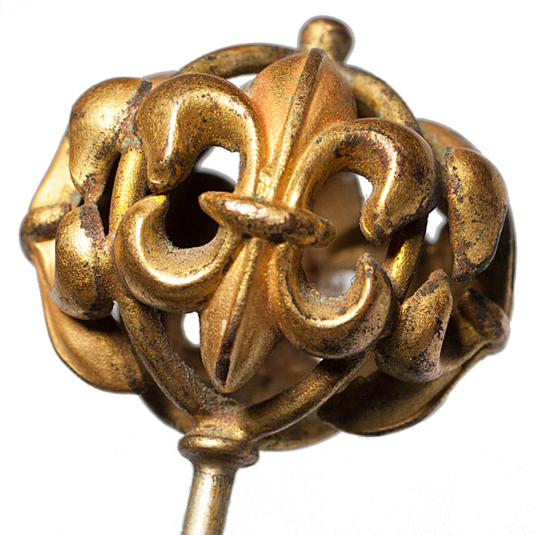 Fleur-de-lis Hat Pin(Chinese Jewelry)