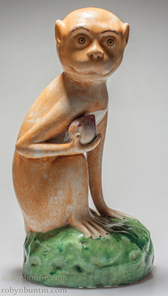 Pair of Monkeys(Chinese Sculpture)