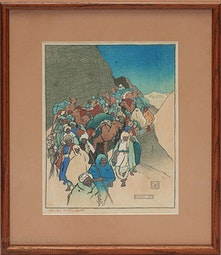 Khyber, 1916 by Charles W. Bartlett
