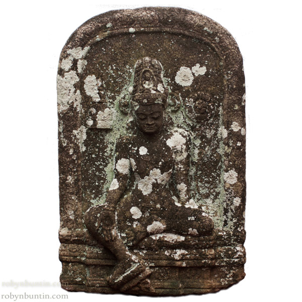 Cambodian Stone Avalokiteshvara(Southeast Asian Sculpture)