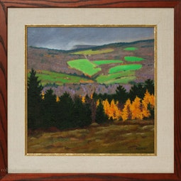 Fall Tamarack by Dennis Morton