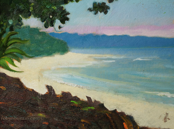Kaena Point by Dennis Morton(Hawaiian Painting/Drawing)