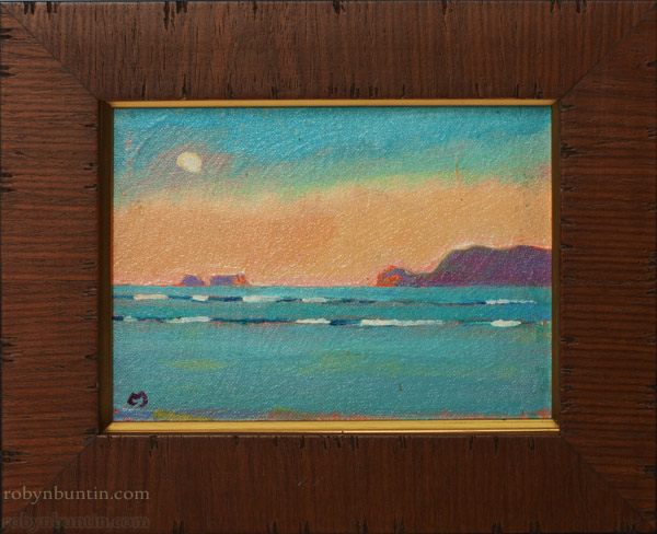 Moon Over Mokapu by Dennis Morton(Hawaiian Painting/Drawing)