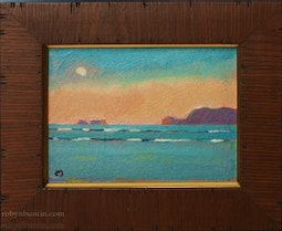 Moon Over Mokapu by Dennis Morton
