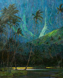 Coconut Grove, Kauai by Dennis Morton