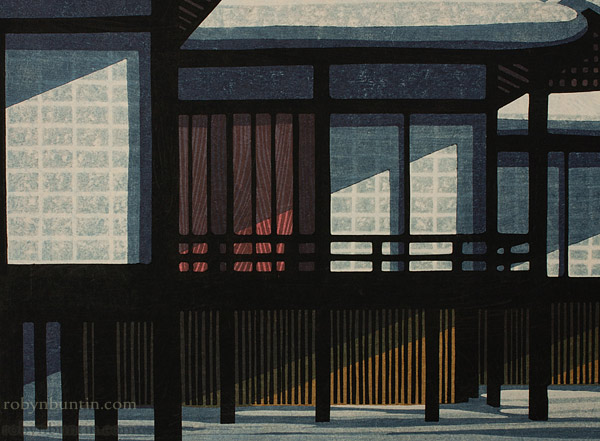 Kyoto Winter (95/100) by Clifton Karhu(Japanese Print)