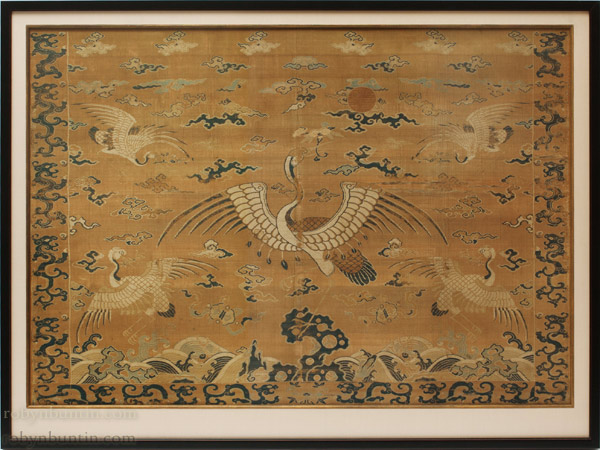 5 Cranes Imperial Fabric(Chinese Textile)