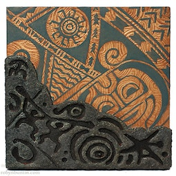 Petroglyph & Tattoo Panel V by Georg James & John Dinsmore