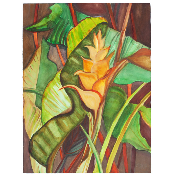 Golden Glory by Anne Irons(Hawaiian Painting/Drawing)