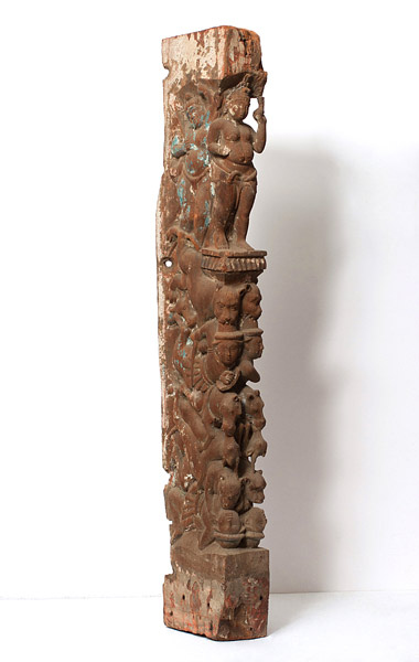 Pair of Nepalese Architectural Pieces(Indian Sculpture)