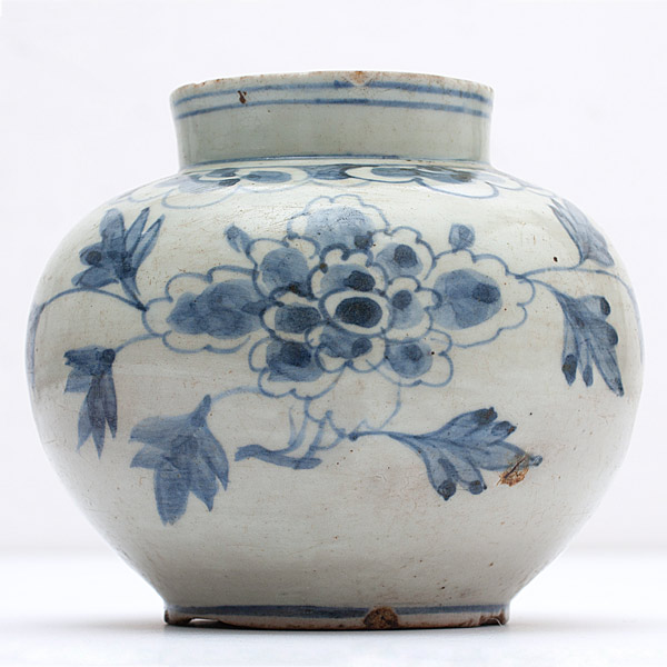 Blue & White Export Vase(Chinese Functional Object)