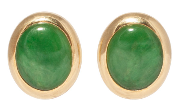 Jadeite Earrings(Chinese Jewelry)