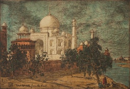 Taj-Mahal From The East (16/75) by Charles W. Bartlett