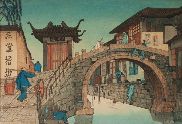 Spring In Soochow by Elizabeth Keith(Japanese Print)