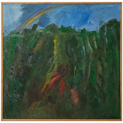 Abstract Koolaus with Rainbow by John Young