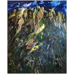 Koolau Abstract by John Young
