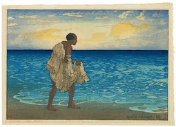 Hawaiian Fisherman by Charles W. Bartlett
