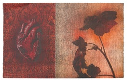 Heart & Leaf Diptych (46/75) by Charles Cohan