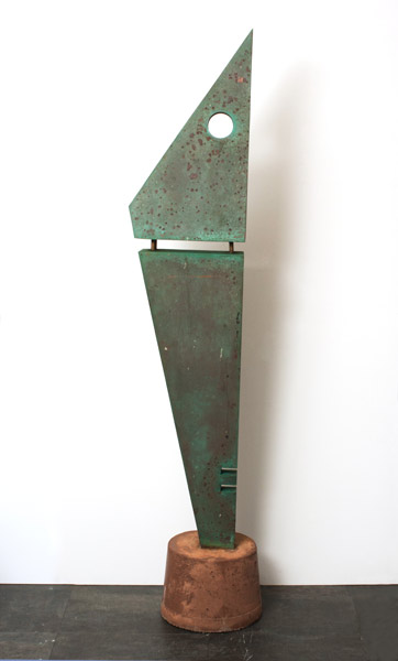 Modern Copper Sculpture(American Sculpture)