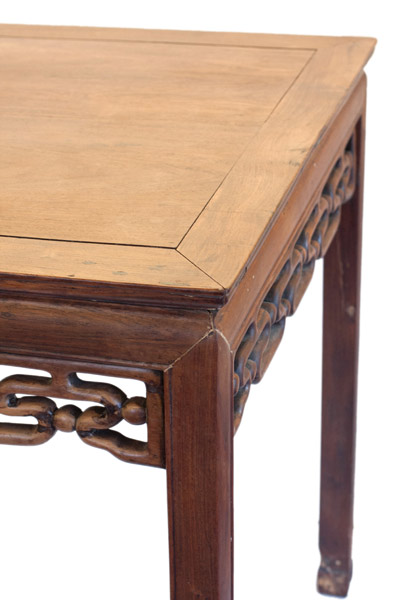 Square Hardwood Table(Chinese Furniture)