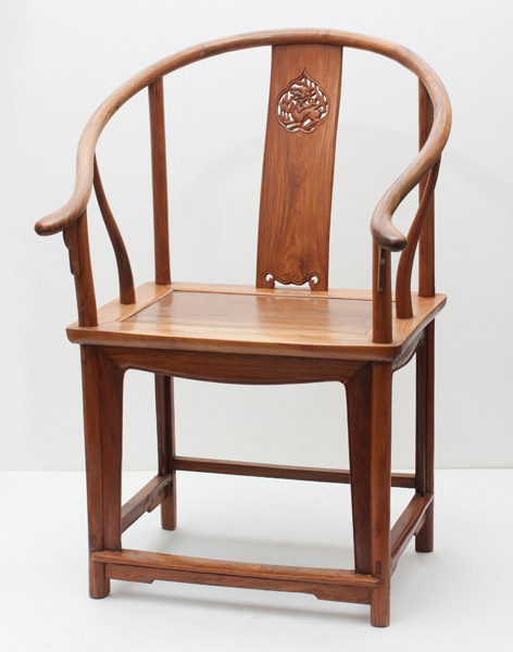 Pair of Huanghuali Chairs(Chinese Furniture)