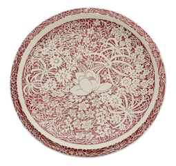Hawaiian Flowers 12.25 Inch Charger by Don Blanding