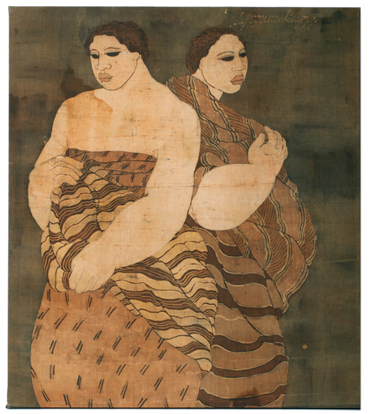 Hawaiian Mothers by Yvonne Cheng(Hawaiian Painting/Drawing)