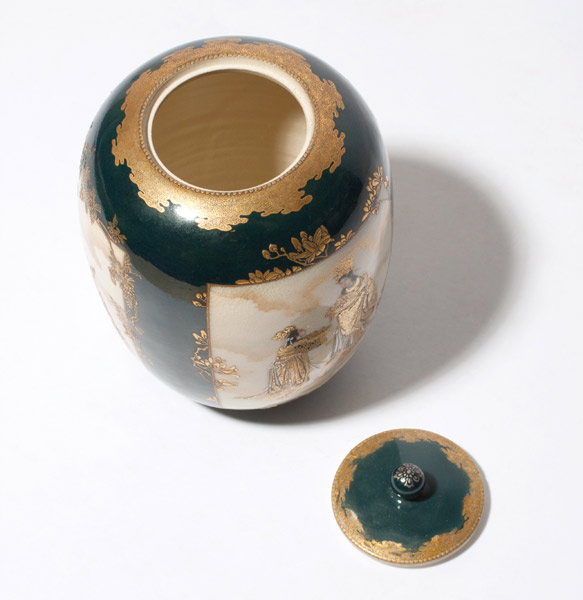 Satsuma Container with Lid(Japanese Functional Object)