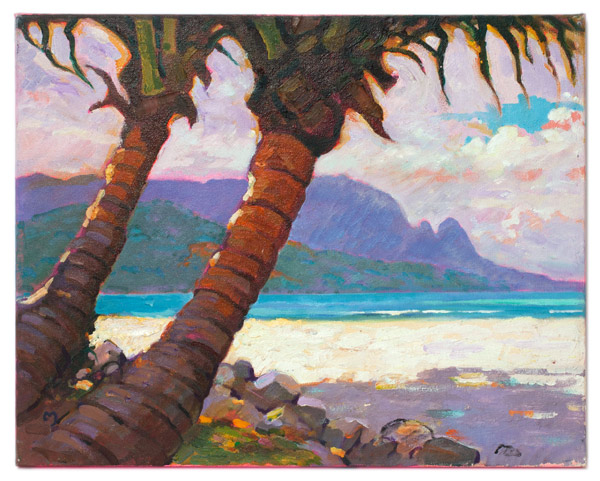 Hanalei by Dennis Morton(Hawaiian Painting/Drawing)