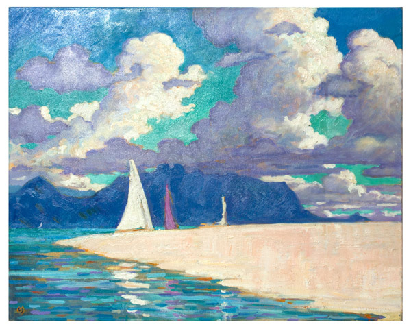 Kaneohe Sandbar by Dennis Morton(Hawaiian Painting/Drawing)