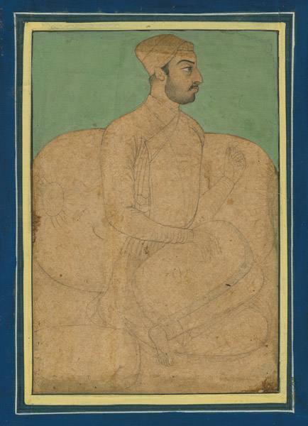 Indian Male Aristocrat(Indian Painting/Drawing)
