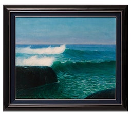 Seascape of Kaiko's Surf Spot by David Howard Hitchcock