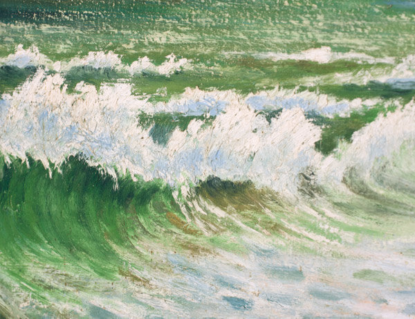 Seascape by Archibald Meacock(Hawaiian Painting/Drawing)